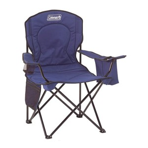 Coleman Portable Camping Quad Chair - Best Folding Chair for Sports: With built-in cooler