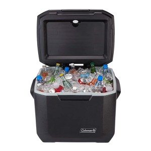 Coleman Rolling Cooler 50 Quart - Best Cooler to Keep Ice: Large capacity
