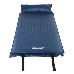 Coleman Self-Inflating Camping Pad with Pillow  - Best Sleeping Pads for Car Camping: With a pillow!