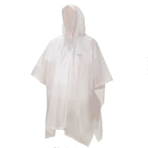 Coleman Adult EVA Poncho - Best Raincoats for Hot Weather: Easy pack rain poncho