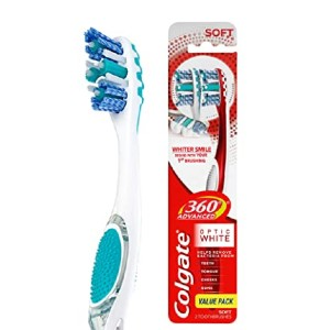 Colgate  360 Optic Sonic Battery Power Toothbrush - Best Toothbrush on Amazon: Affordable electric pick