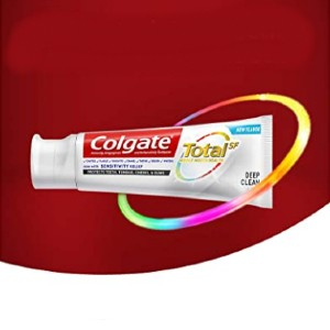 Colgate Total Toothpaste Deep Clean - Best Toothpaste Recommended by Dentist:  Against germs up to 12 hours