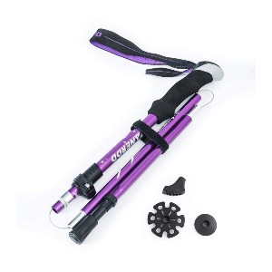 MIERSPORTS Collapsible Trekking Pole - Best Walking Sticks for Arthritic Knees: Built for Your Comfort