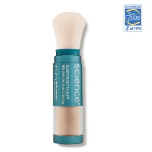 Colorescience Sunforgettable® Total Protection™ Brush-On Shield SPF 50 - Best Sunscreen for Dry Skin: Water-Resistant Brush-On Sunscreen