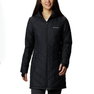 Columbia Standard Heavenly Long HDD Jacket - Best Raincoats for Cold Weather: Long-line classic raincoat jacket