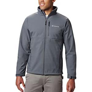 Columbia Mens Ascender Softshell Jacket - Best Raincoats for Hiking: Lighweight and protective