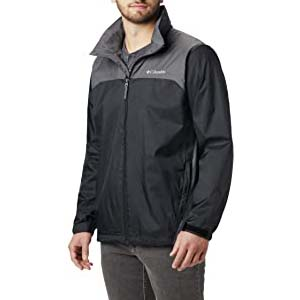 Columbia Men's Glennaker Lake Rain Jacket - Best Raincoats with a Suit: Spacious and handy