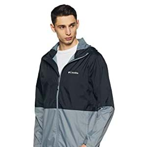 Columbia Men's Roan Mountain - Best Raincoats for Cycling: Fashionable and warm