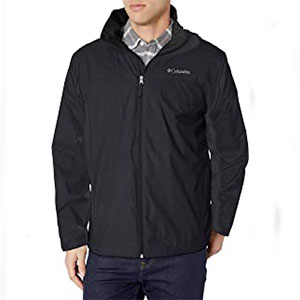 Columbia Store Glennaker Lake Lined Rain Jacket - Best Raincoats for Work: Lightweight raincoat jacket