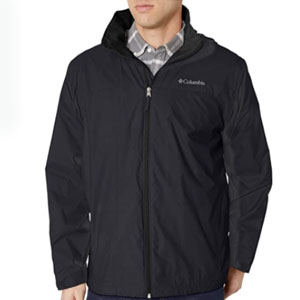 Columbia Store Glennaker Lake Lined Rain Jacket - Best Raincoats for Cold Weather: Lightweight Material