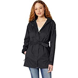 Columbia Women's Pardon My Trench™ - Best Raincoats with a Suit: Removable belt for several looks