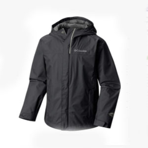 Columbia Watertight Jacket Jacketsc - Best Raincoats for College Students: Elastic Hem and Hood