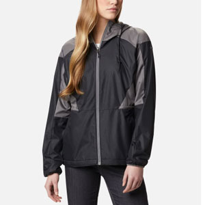 Columbia Women's Side Hill™ Lined Windbreaker - Best Jacket for Wind: Windbreaker jacket with adjustable waist