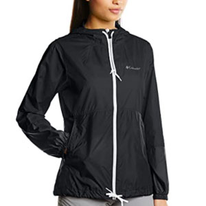 Columbia Women's Flash Forward Windbreaker, Water & Stain Resistant - Best Jacket for Wind: Windbreaker jacket with two hand pocket
