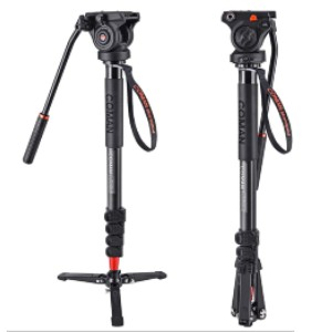 Coman Professional Monopod - Best Monopods for Travel Photography: Compact Monopod