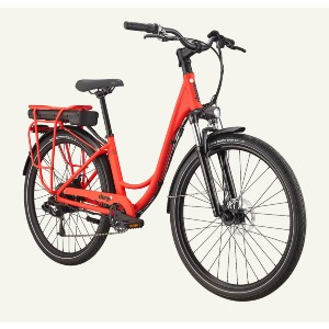 Charge Comfort Electric Bike - Best Electric Bike with Throttle: Simple thumb throttle
