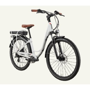 Charge Comfort Electric Bike - Best Electric Bike for Short Female: Keeping your body upright