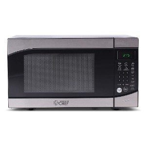 Commercial Chef CHM009 Countertop Microwave Oven - Best Microwave Under 100: Small footprint