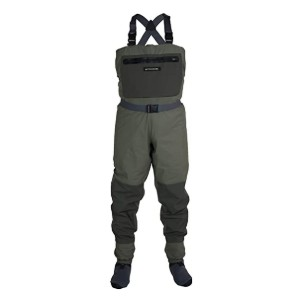 Compass 360 Deadfall STFT Chest Wader Sport boot - Best Waders for Surf Fishing: Keep your valuables within reach