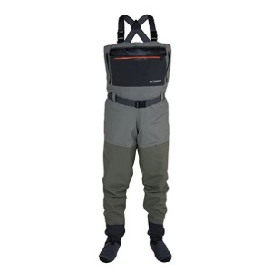 Compass 360 Tailwater Stockingfoot Chest Wader  - Best Chest Waders for Fishing: Keep your valuables within reach