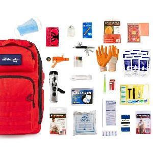 Redfora Complete Earthquake Bag - Best Emergency Preparedness Kits: Trusted by Hundreds of Thousands of People