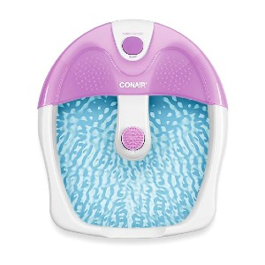 Conair Foot Pedicure Spa - Best Foot Spa for Elderly: 10 minutes of relaxation