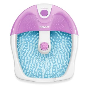 Conair Foot Pedicure Spa - Best Foot Spa for Cracked Heels: No more messy spa