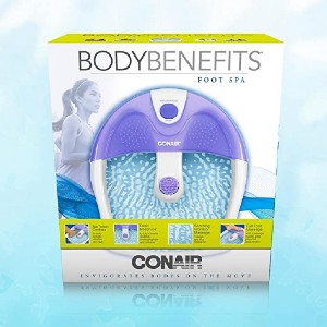 Conair FB3AMP - Best Foot Spa for Athletes: Completely submerge your feet