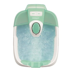 Conair  Pedicure Foot Spa - Best Foot Spa for the Money:  Three pedicure attachments