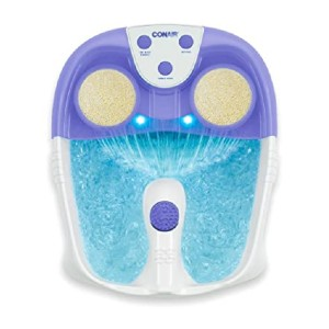 Conair Waterfall Pedicure Foot Spa - Best Foot Spa for Home: Soft-touch massager