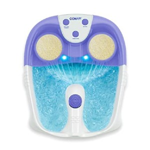 Conair  Waterfall Pedicure Foot Spa  - Best Foot Spa Amazon: So many attachments