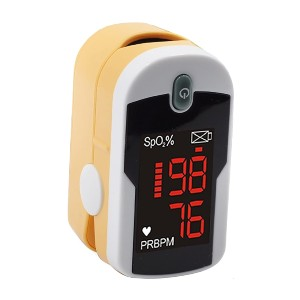 Concord Topaz Fingertip Pulse Oximeter  - Best Pulse Oximeter for Elderly: Turns off automatically