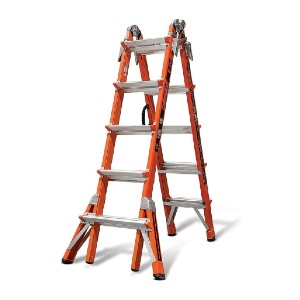 Little Giant Conquest Model 22 - 15146 - Best Ladders for Stairs: Engineered Specifically for Insurance