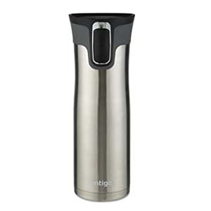 Contigo Autoseal West Loop Travel Mug - Best Tumbler for Cold Drinks: No leakage with autoseal technology
