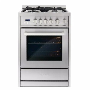 Cosmo 24 in. 2.73 cu. ft. Single Oven Gas Range  - Best Gas Ranges for the Money: Built to last