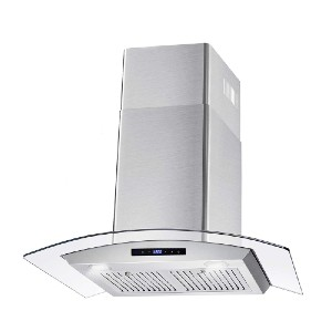 Cosmo 668WRCS75 Wall Mount Range Hood - Best Range Hoods for Gas Stoves: Great for variety of cooking