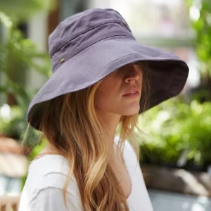 Anthropologie Cotton Crusher Hat - Best Beach Hat Women: With UPF 50 Sun Protection