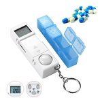 10 Reviews: Best Pill Boxes with Alarm (Oct  2020): Little and Handy Pill Container