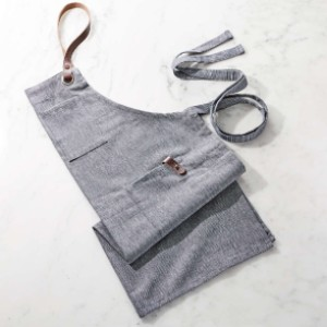 Crate and Barrel Denim Apron - Best Cooking Aprons: Soft Material Apron