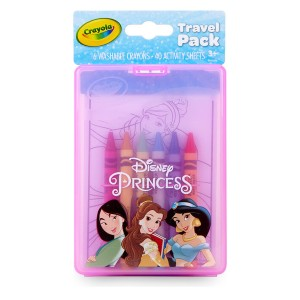 Crayola Princess Travel Pack - Best Crayons for Toddlers: Travel-Friendly Art Set
