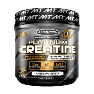 MuscleTech Creatine Monohydrate Powder - Best Mass Gainer for Skinny Guys: No fillers. No sugar. Unflavored.
