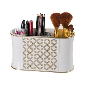 Creative Scents Makeup Brush Holder - Best Makeup Brush Holder: Slim Design Brush Holder