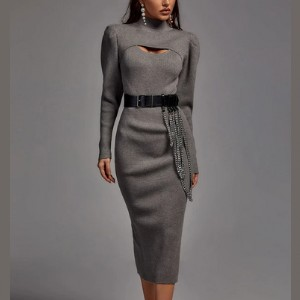 Bella Barnett Cressida Two Pieces Knit Dress  - Best Knit Dresses: Sexy without revealing