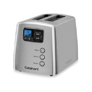 Cuisinart Touch to Toast Leverless 2-Slice Toaster - Best Toaster Two Slices: Toaster with Innovative Motorized Lift Control