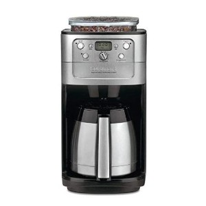 Cuisinart Grind-and-Brew 12-Cup Automatic Coffeemakers - Best Grinder and Coffee Maker: Strength Grinder Selection Feature