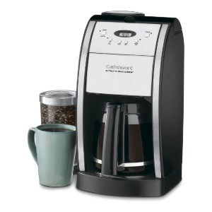 Cuisinart Grind & Brew Automatic Coffeemaker - Best Grinder and Coffee Maker: Coffee Maker with 12-Cup Glass Carafe