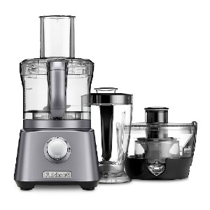Cuisinart Kitchen Central 3-in1 with Blender - CFP-800 - Best Blender Food Processor Combo: Continuous Juice Extractor Unit