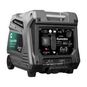 Cummins Onan P4500i  - Best Generators for Travel Trailers: Easy-to-Read LED Display Provides Precise Readings