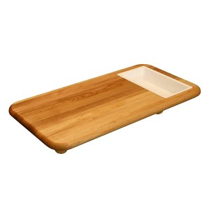 Catskill Craftsmen, Inc. Cut N' Catch Over Sink Carver Board - Best Cutting Board with Trays: Fits any kitchen