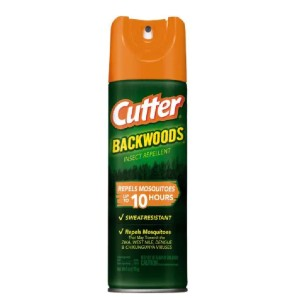 Cutter Backwoods Aerosol Mosquito and Insect Repellent Spray - Best Mosquito Repellent Spray for Body: DEET-Based Repellents